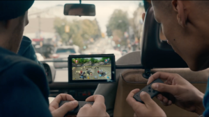 Joy-Con's being used for Split Screen